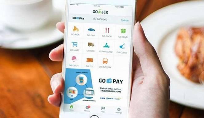 Cara Transaksi Gojek Dengan Go Pay