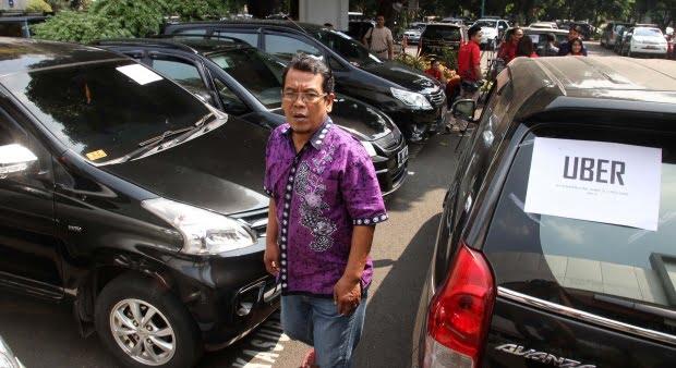 Cara Daftar Uber Taxi Jakarta
