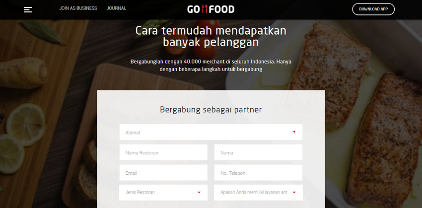 Surat Kontrak Go Food Untuk Memasukan Toko ke Gojek