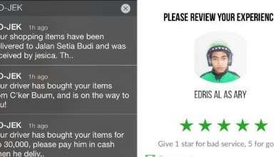 Cara Memberi Rating Melihat Feedback Pada Driver Gojek
