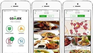 Cara Termudah Memesan GO-JEK Makanan Via GO-FOOD