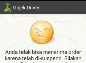 Tutorial Cara Buka Suspend Gojek Manual